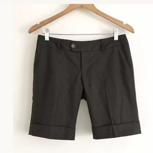 BANANA REPUBLIC ALL-SEASON WOOL STRETCH SHORTS